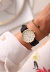 Czarno-Złoty Zegarek Classic Timer