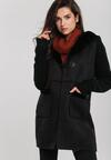 Czarny Płaszcz Mentone