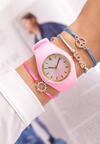 Ciemnoróżowy Zegarek Another Way
