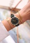 Ciemnozielony Zegarek Cyclamen