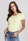 Żółty T-shirt Mega Factor