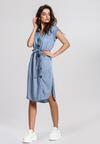 Niebieska Sukienka Worthier