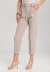 Beżowe Spodnie Simplicity