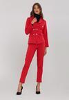 Czerwony Garnitur Elegance