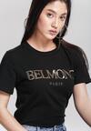 Czarny T-shirt Technology