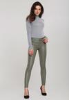 Zielone Spodnie Luster