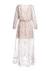 Biała Sukienka Flowery