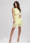 Żółta Sukienka Keenly