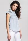 Niebieska Koszula Plasticize