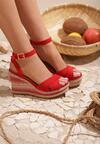 Czerwone Sandały Beguiling