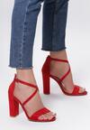 Czerwone Sandały Immutation