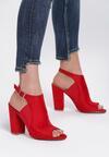 Czerwone Sandały Entitize