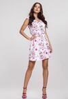 Biało-Różowa Sukienka Posses