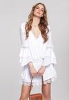 Biała Sukienka Cyclamen
