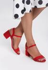 Czerwone Sandały Bemusement