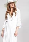 Biała Sukienka Set Me Free
