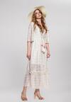 Beżowa Sukienka Adjective