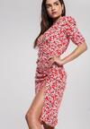 Czerwona Sukienka Dyne