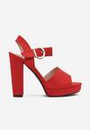 Czerwone Sandały Fain