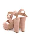 Różowe Sandały Fain