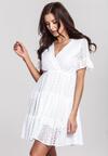 Biała Sukienka Sweetroot