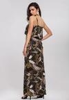 Ciemnozielona Sukienka Overwhelming