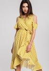 Żółta Sukienka Breezes