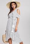 Biała Sukienka Breezes