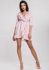 Jasnoróżowa Sukienka Westerlies