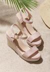 Beżowe Sandały Gainfuls