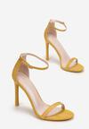 Żółte Sandały Snaffle