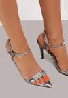 Brązowe Sandały Atomize