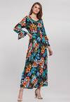 Granatowa Sukienka Affluent