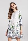 Biała Sukienka Latent