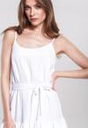 Biała Sukienka Calmer