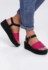 Różowe Sandały Cosmetics