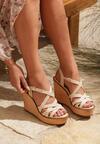 Beżowe Sandały Resplendency