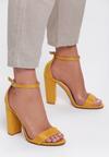 Żółte Sandały Up Front