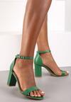 Limonkowe Sandały Bargaining
