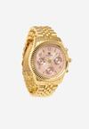 Złoto-Różowy Zegarek Greeting