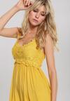 Żółta Sukienka Foxtrot