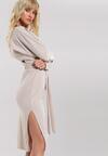 Jasnobeżowa Sukienka Thermal