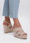Beżowe Sandały Shades Of Me
