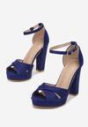 Niebieskie Sandały Ask For