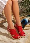 Czerwone Sandały Advertize