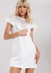 Biała Sukienka Swarming