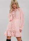 Różowa Sukienka Magic Flame