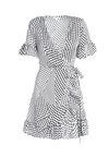 Biała Sukienka Joggle
