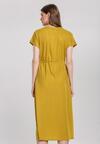 Żółta Sukienka Obstructor