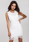 Biała Sukienka Drop By